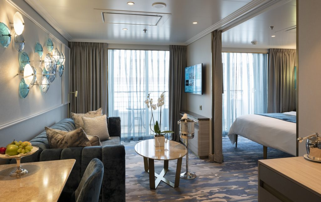 A Seabreeze Penthouse on board Crystal Serenity