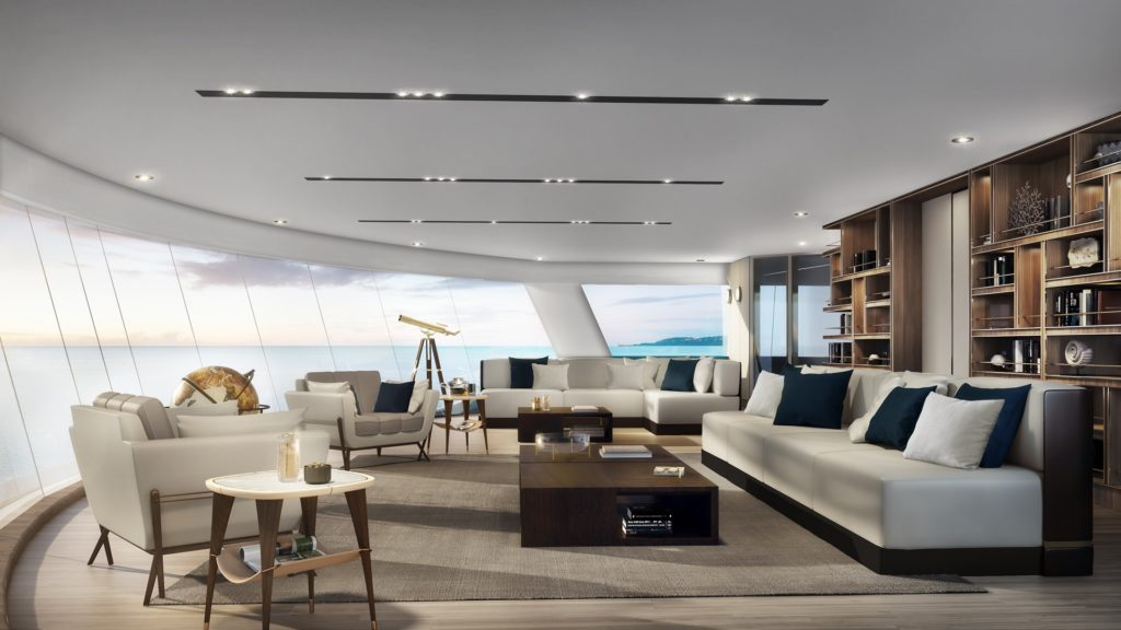 Observation Lounge on board Silver Origin